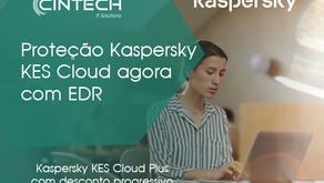 Proteção Kaspersky agora com EDR