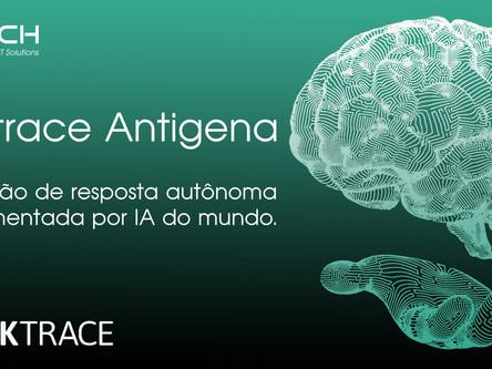 A cada 3 segundos, Darktrace Antigena reage a uma ameaça virtual.