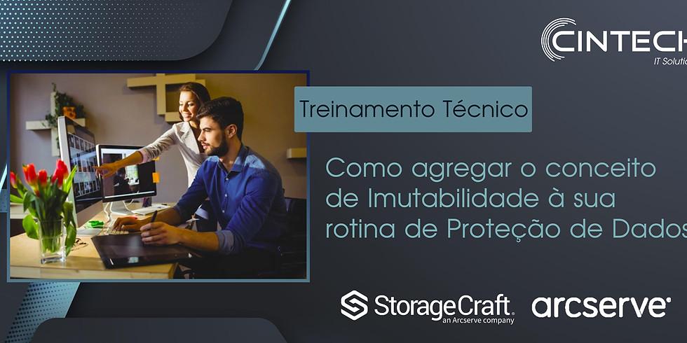 Treinamento Técnico: Agregando a Imutabilidade à sua rotina de Proteção de Dados