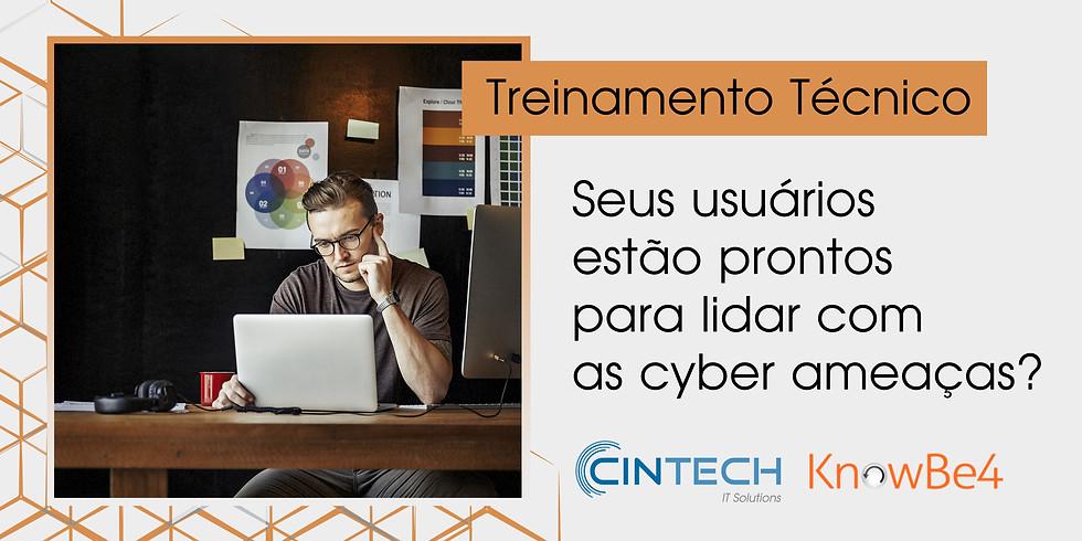 Treinamento Técnico: Seus usuários estão prontos para lidar com as cyber ameaças?