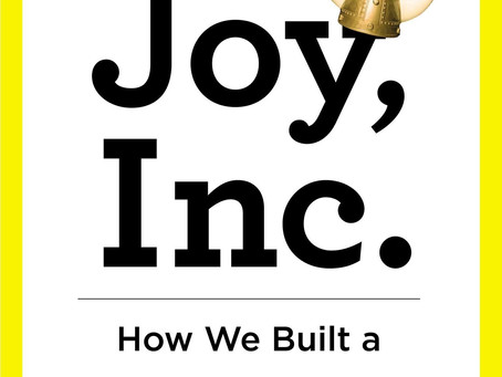 Joy Inc. - a joyful read about an awesome workplace