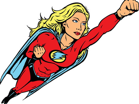 Superwoman – we only fully comprehend her awesomeness once we have become her.