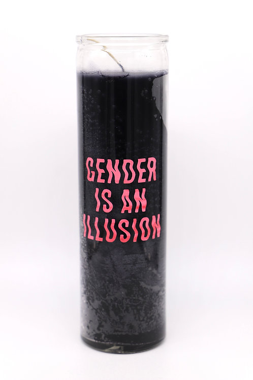Gender Is An Illusion Candle