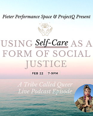 a flyer for a self care workshop