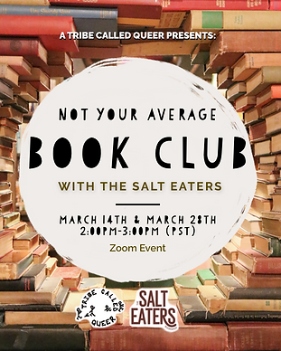 a flyer for bookclub