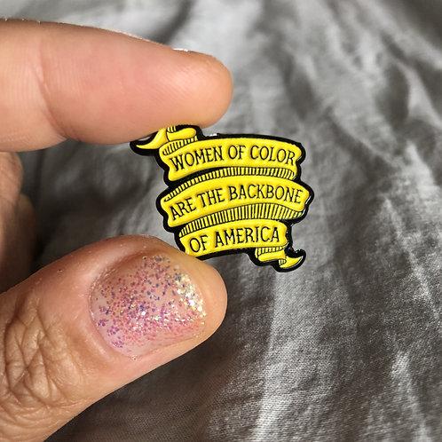 WOC Enamel Pin