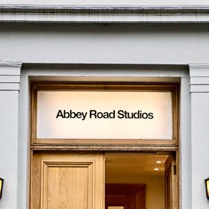 Emanuele Casale with Abbey Road Studios