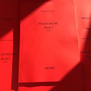 Piano Music - Book 1