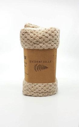 Serviette wrap microfibre - beige