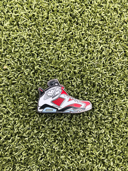 Country Club Kicks Ball Marker AJ6 (White and Red)