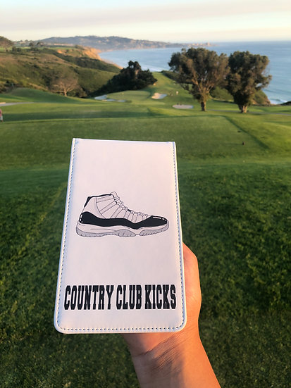 Country Club Kicks Score Card Holder