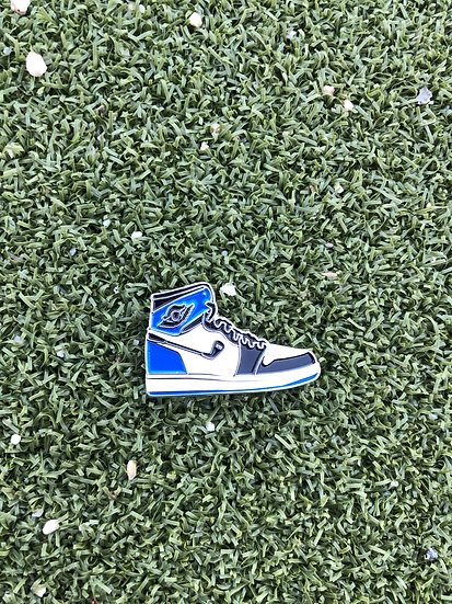 AJ1 Ball Marker Black White Blue