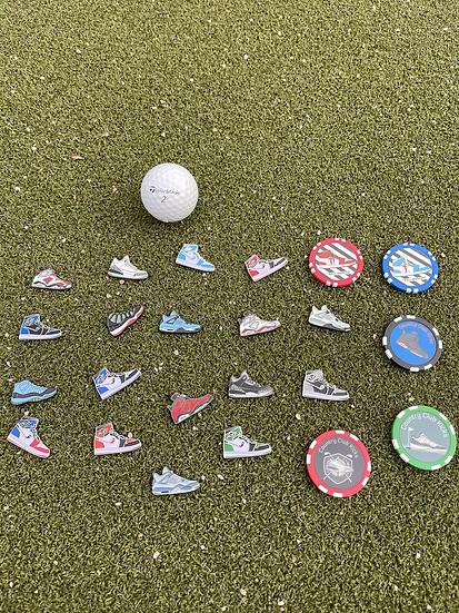 Random 2 Golf Ball Marker set