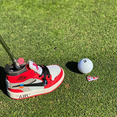AJ1 CHI Putter Cover and Ball Marker