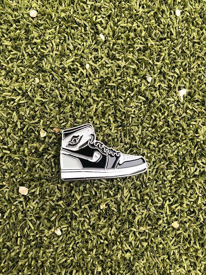 Aj1 Golf ball marker (black grey)