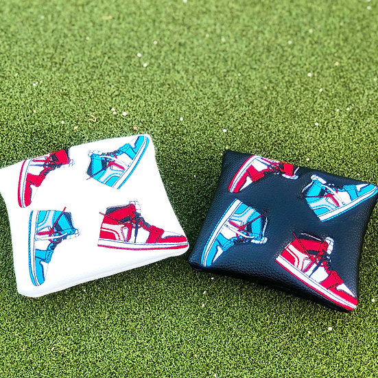 OW AJ1 Putter Mallet Cover (White)