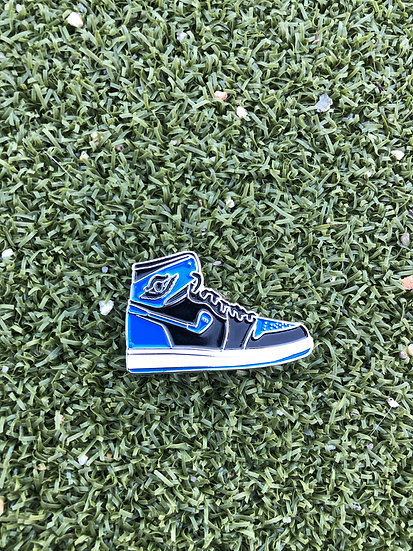 AJ1 Ball Marker Blue Black