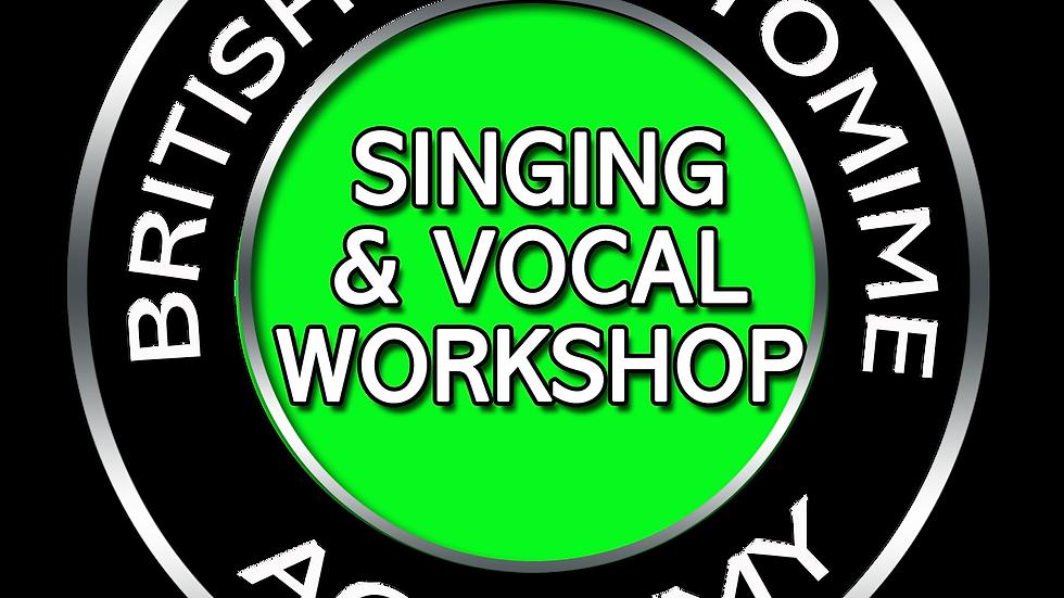 Singing & Vocal Masterclass