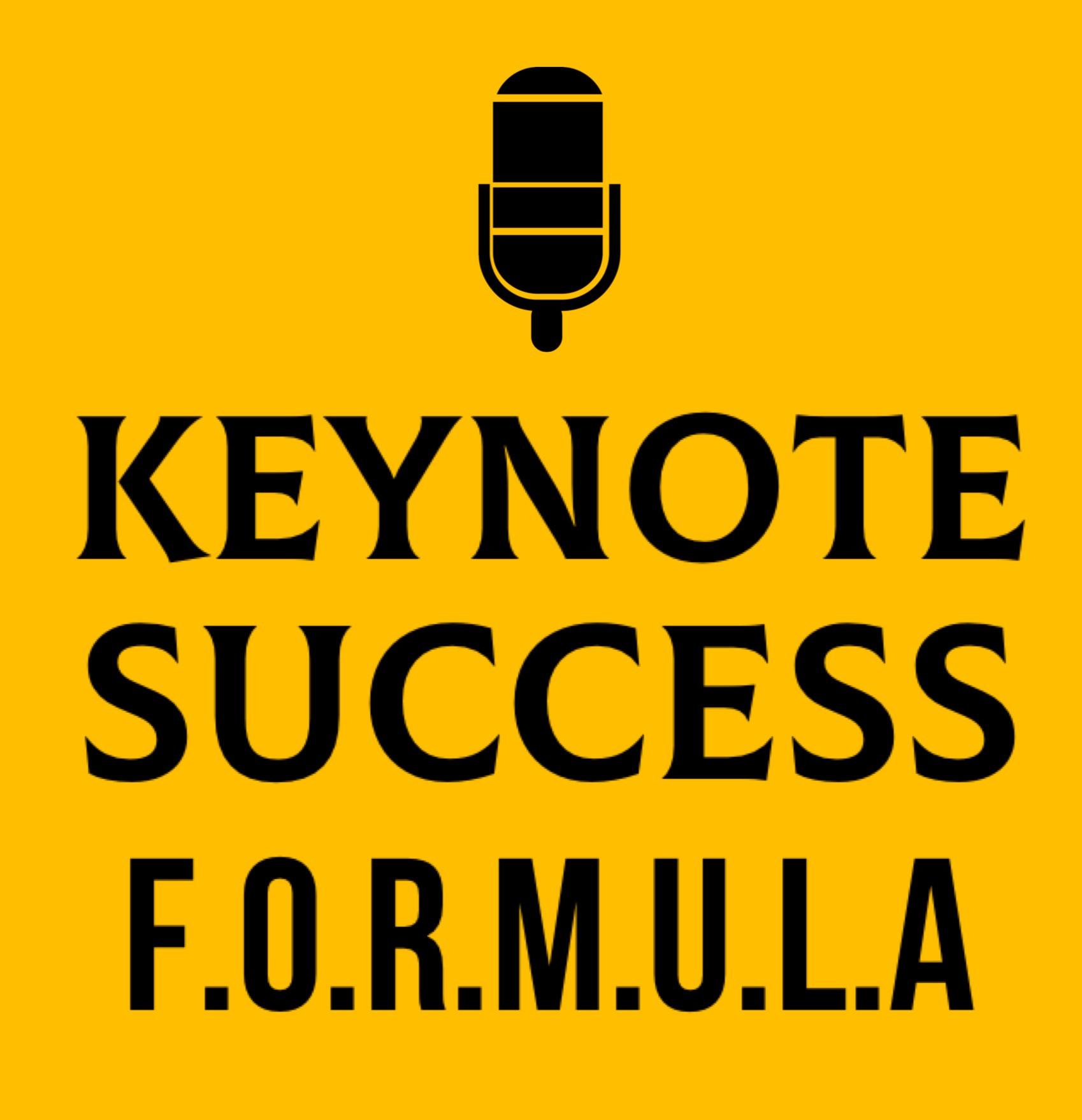 Keynote Success Formula (Platinum)