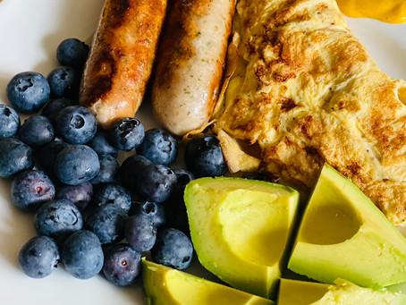Enjoy your Morning Breakfast -          The Keto Way!