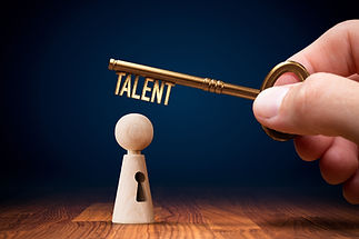 Key to unlock and open your talent and p