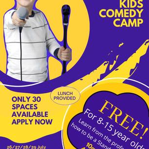 Jongleurs Kids Comedy Camp