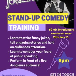 Jongleurs Stand-Up Comedy Training