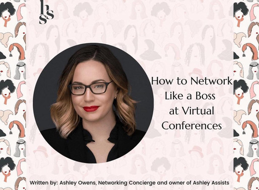 HOW TO VIRTUALLY NETWORK AT A CONFERENCE (Part 2) by Ashley Owens
