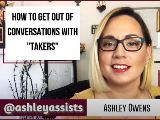 """How To Get Out of Conversations with """"Takers"""""""