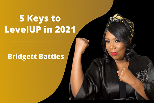 WEBINAR: 5 Keys to LevelUP in 2021