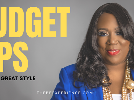 Budget Tips for Great Style