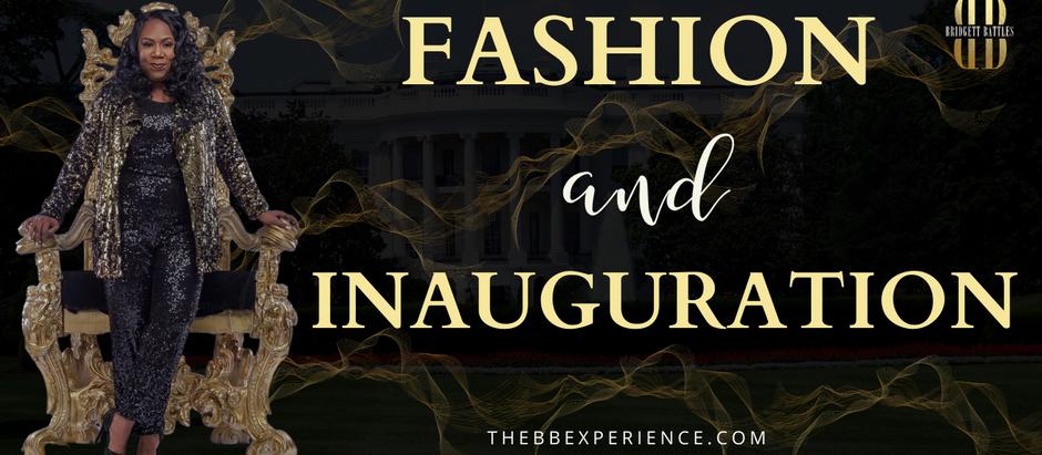Fashion and Inauguration