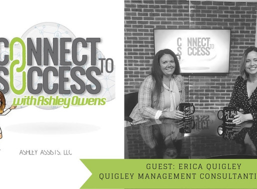 Building your Own Business and Leaving the Corporate Ladder with Erica Quigley
