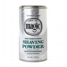 Magic Polvos de afeitar con aloe vera 142gr