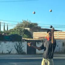 Juggler with Bandana