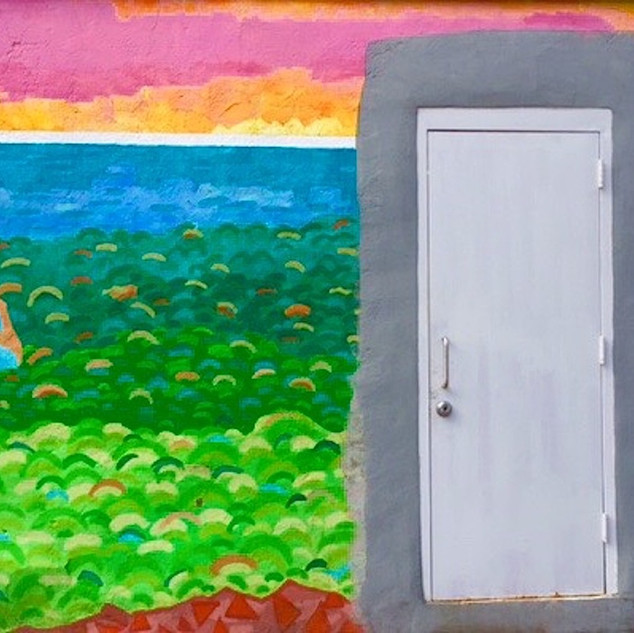 Plain White Door