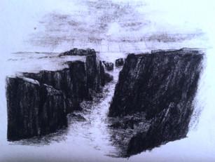 Fair Isle studies: Heilli Stacks, High Holm & skerries