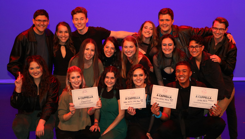 Awards: Best Arrangment, Best Vocal Percussion, and 1st Place at ICCA Quarterfinals 2020