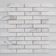 Biello Marble tumbled Mosaic 98x23x10mm