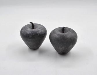 Marble Apple Large Black