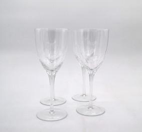 CRACKLE WINE (RED) GLASS GLA027