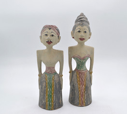 Standing Statue Couple (Small)