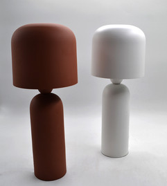 Terracotta and white bolzano table lamp LAM172 $245.00 .jpg