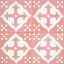 Encaustic A697 - Pink