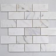 Calacatta Marble Mosaic 95x48x10mm