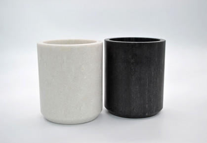 Marble Wine Cooler - Black and White