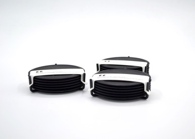 Zone Coasters (Set of 6) Black