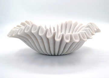 Lehriya white marble bowl SOLD OUT