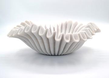 Lehriya White Marble Bowl