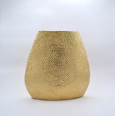 Bead golden vase lrg DA1255C